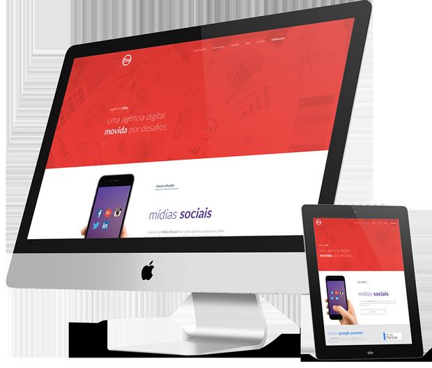 Agencia Ziny Desenvolvimento de websites